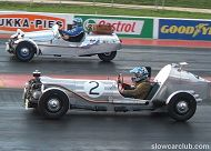 Slow Car Club drag racing